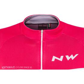 Northwave Origin Kurzarm Trikot Damen pink/light grey